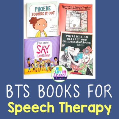 4 Fun Back to School Books for Easy Speech Therapy