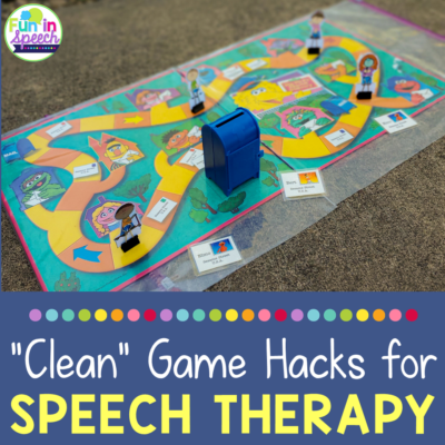 How to Safely Use Your Board Games in Speech Therapy