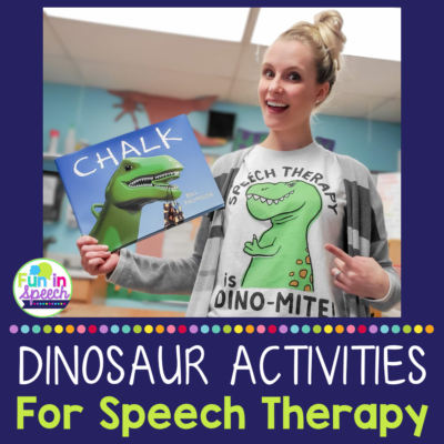 Dinosaur Activities for Speech Therapy